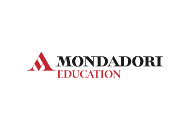 Logo Mondadori Education Immagine concessa con licenza CC BY-SA 4.0