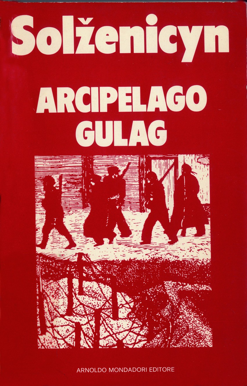 The Gulag Archipelago by Solzhenitsyn, set in the Soviet concentration camp universe, was published in Saggi in 1974 and achieved unbelievable sales success. Image licensed under CC BY-SA 4.0