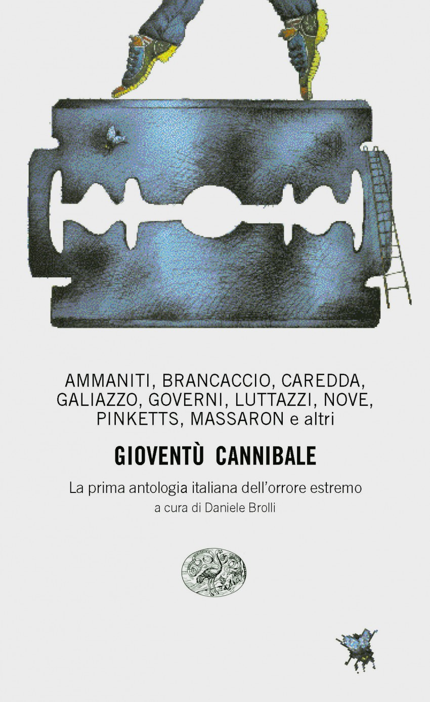 Gioventù cannibale, first Italian anthology of extreme horror, was published among the first titles in Einaudi Stile libero series founded in 1995. Image licensed under CC BY-SA 4.0