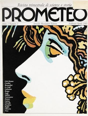 Copertina nel numero 1 di Prometeo, 1983 Immagine concessa con licenza CC BY-SA 4.0