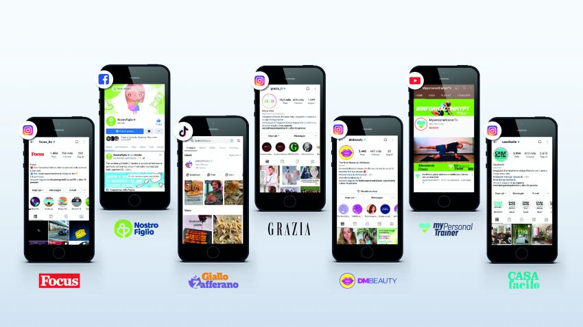 Mondadori Media - social destination